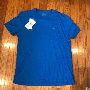 NWT Men's Lacoste Pima t shirt